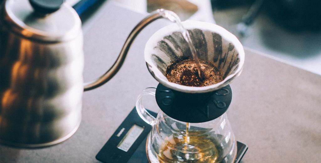 приготовление кофе методом пролива