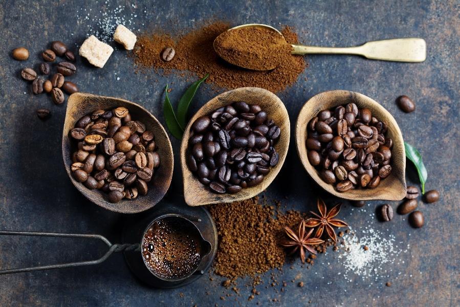 ароматизированный свежеобжаренный кофе